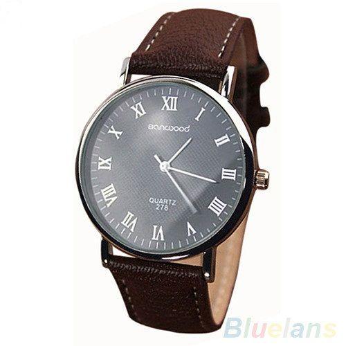 Фото - Стильные кварцевые мужские часы. Sanwood Quartz KM-i10
