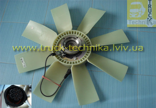 Фото - Вентилятор системы охлаждения, вискомуфта, VOLVO