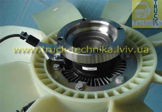 Фото 4 - Вентилятор системы охлаждения, вискомуфта, VOLVO