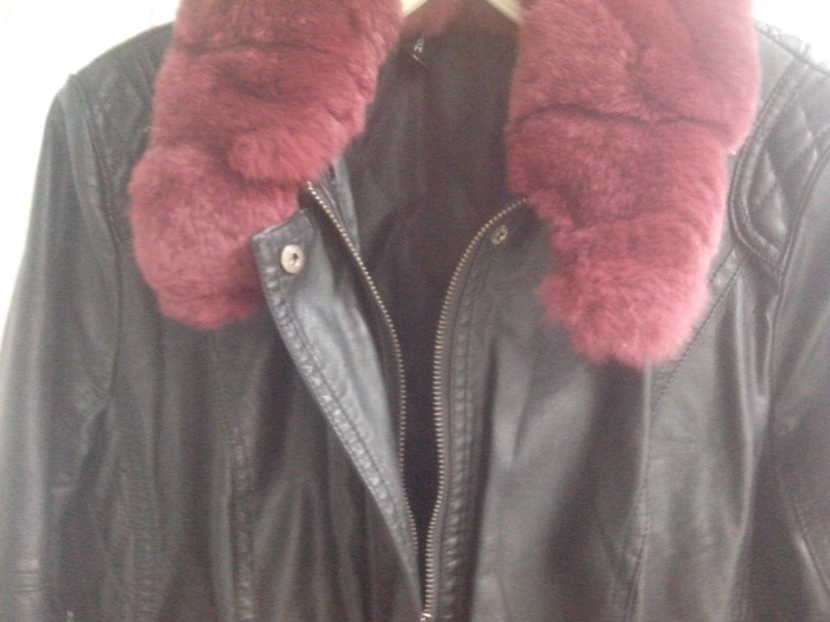 Фото 8 - Куртка женская (кож.зам)