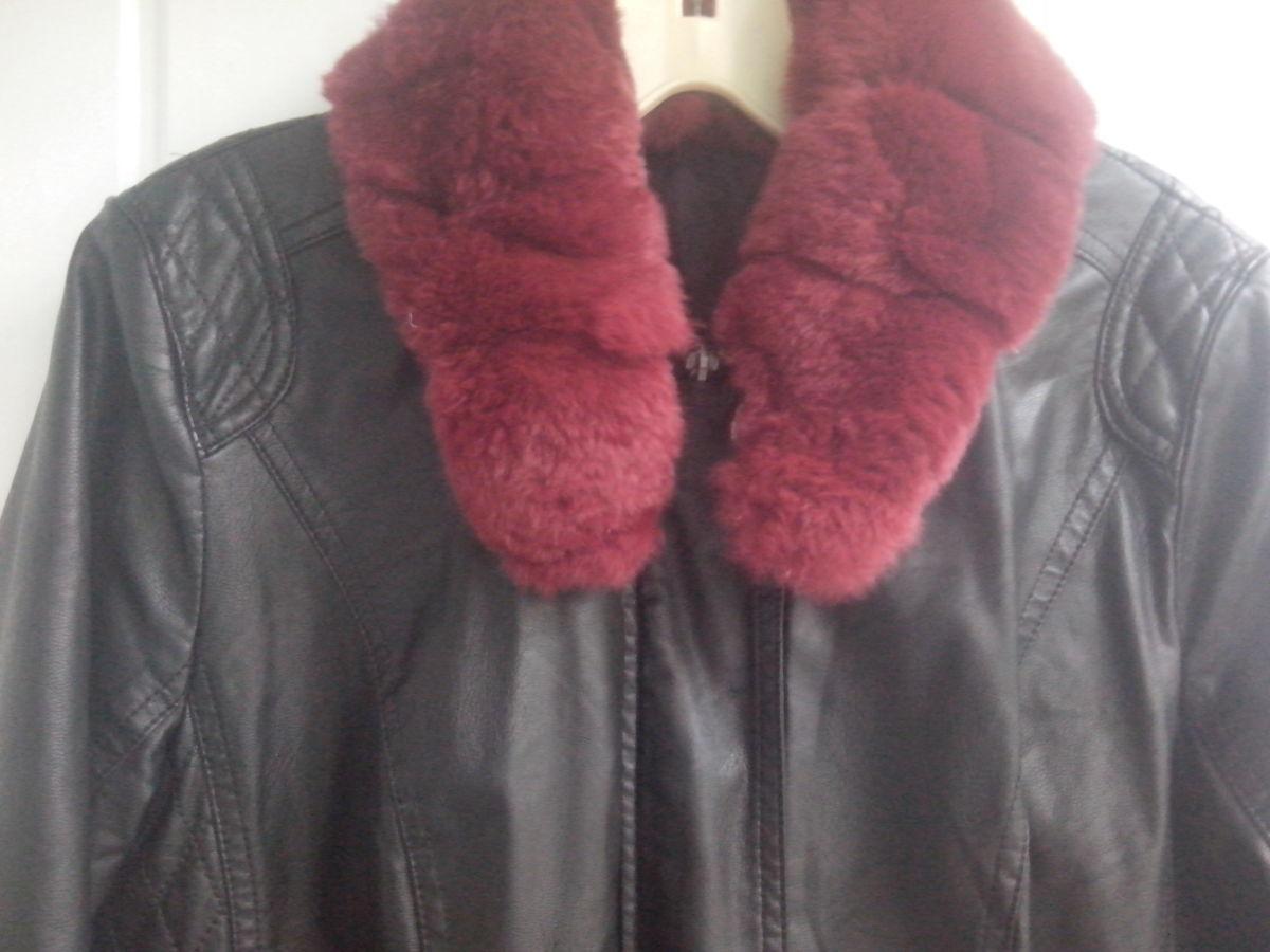 Фото 3 - Куртка женская (кож.зам)