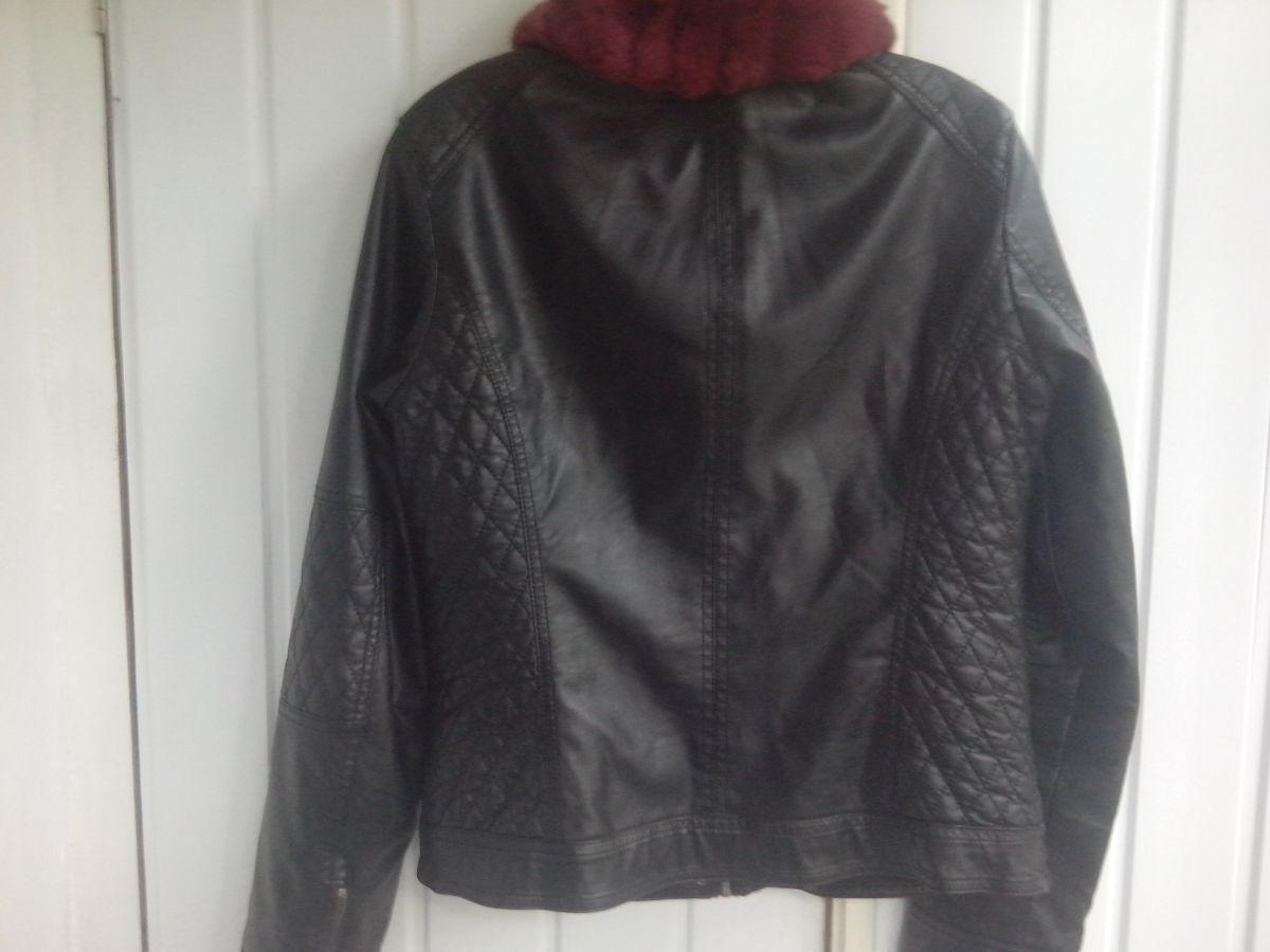 Фото 6 - Куртка женская (кож.зам)