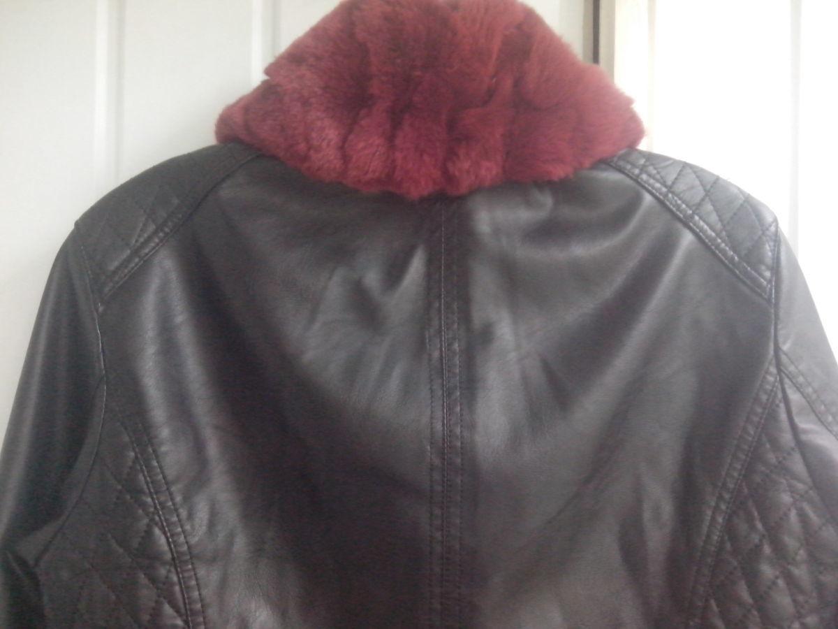 Фото 7 - Куртка женская (кож.зам)