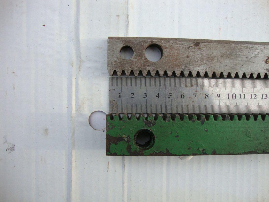 Фото 7 - Зубчатая рейка 425мм и 735мм станочная