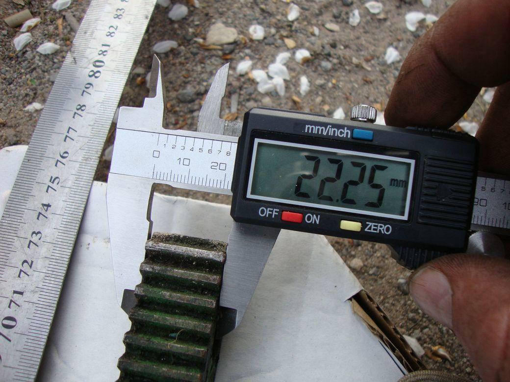 Фото 10 - Зубчатая рейка 425мм и 735мм станочная