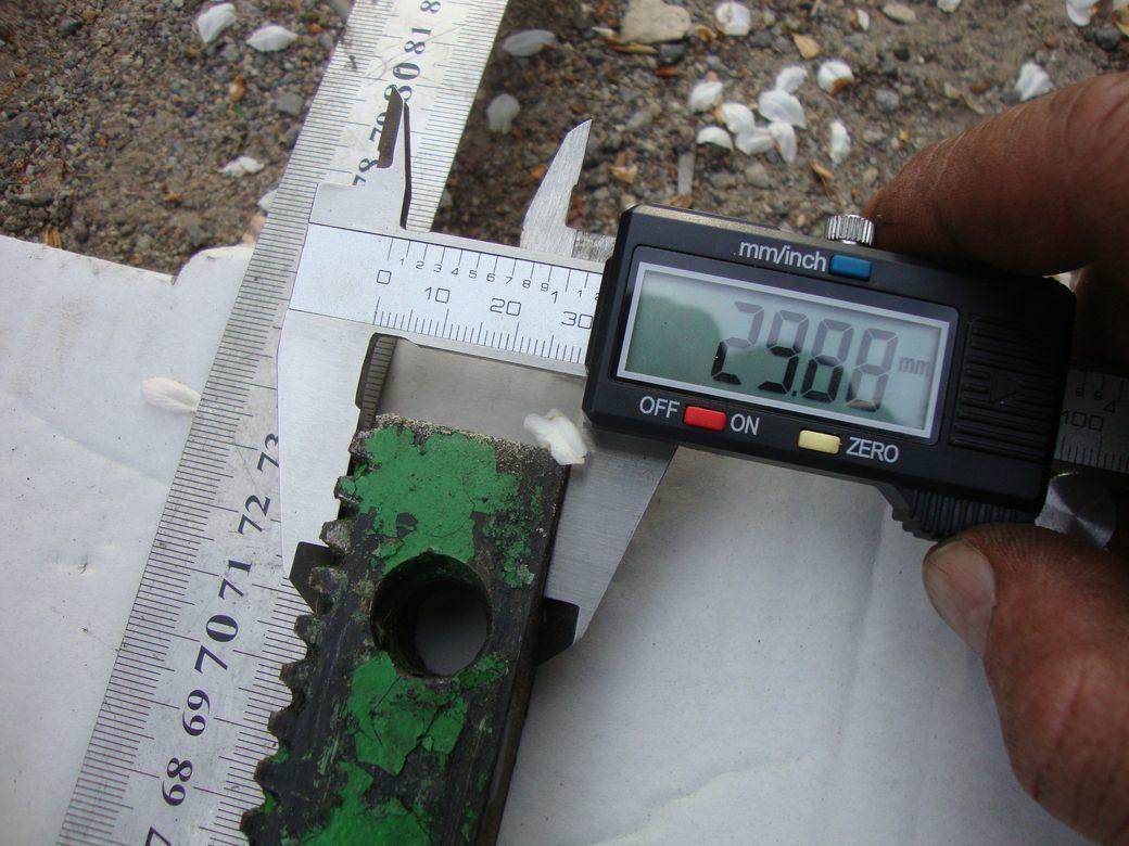 Фото 9 - Зубчатая рейка 425мм и 735мм станочная