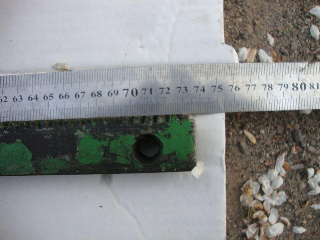 Фото 8 - Зубчатая рейка 425мм и 735мм станочная