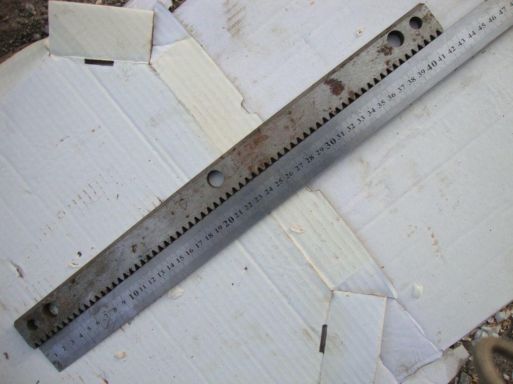 Фото 4 - Зубчатая рейка 425мм и 735мм станочная