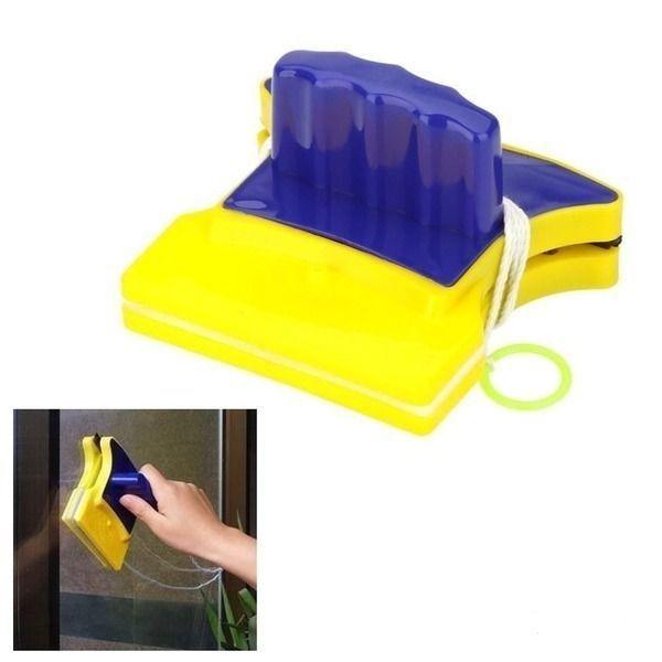 Фото - Магнитная щетка для мытья окон Double Sider Glass Cleane