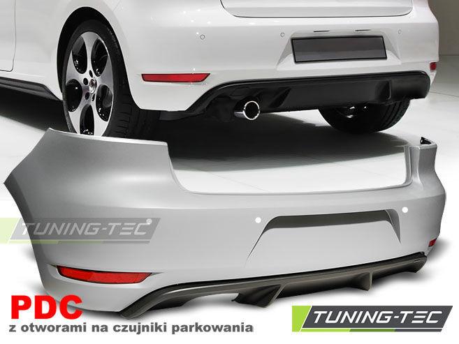 Фото - Бампер задний VW GOLF 6 GTI STYLE SINGLE PDC (ZTVW04)