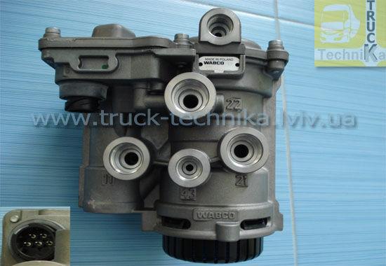 Фото - Кран управления тормозами с EBS MAN,TGL,DB ACTROS, DAF