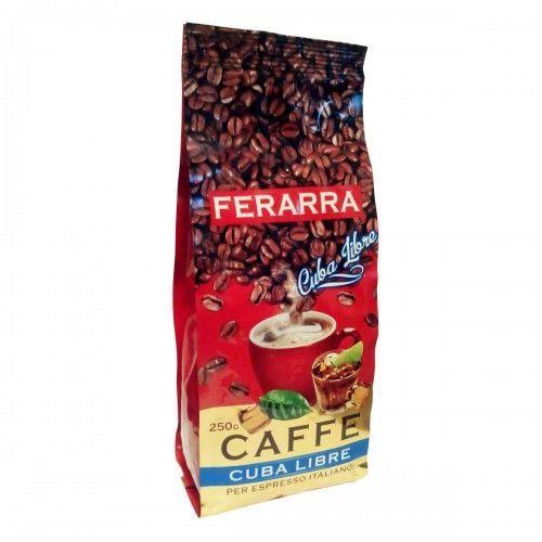 Фото - Кофе в зернах Ferarra Cuba Libre Кубинский ром 250гр