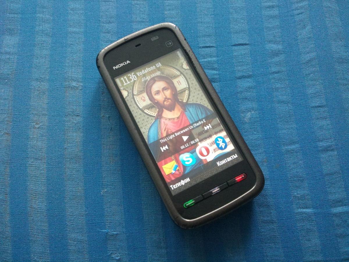 Фото 5 - Продам сенсорний Смартфон Nokia 5228.