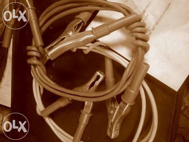 Фото 3 - Комплект стартерных проводов.