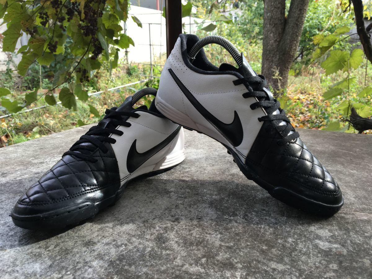 Фото 3 - Бампы, футзалки, сороконожки Nike Tiempo Размер 40, стелька 25