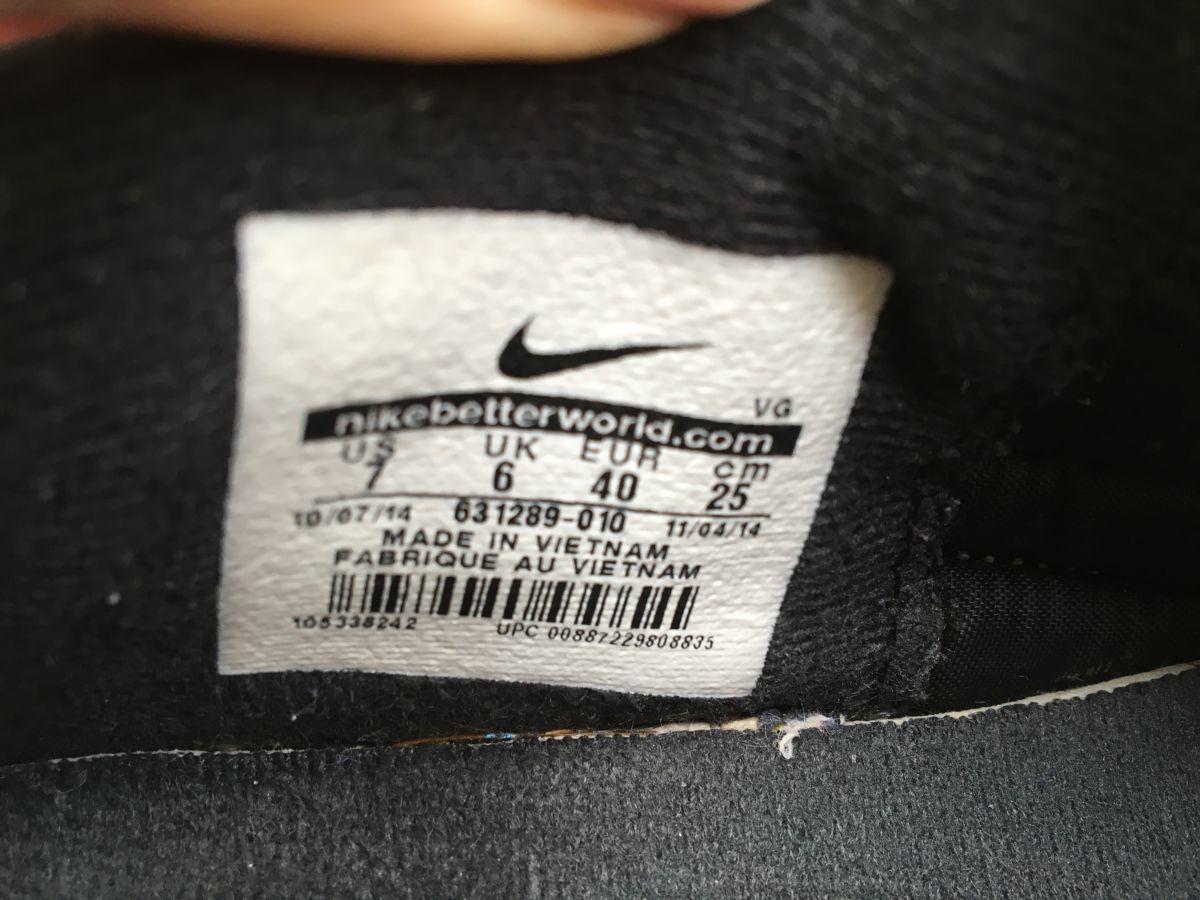 Фото 7 - Бампы, футзалки, сороконожки Nike Tiempo Размер 40, стелька 25