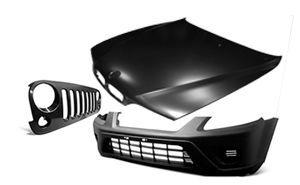 Фото 2 - Капот,крылья,бампер, фары на все марки автомобилей