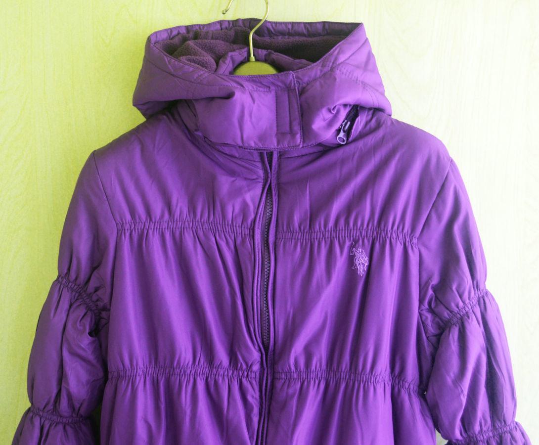 Фото 5 - Курточка деми еврозима флис подклакдка на 14-16 лет, US Polo Америка