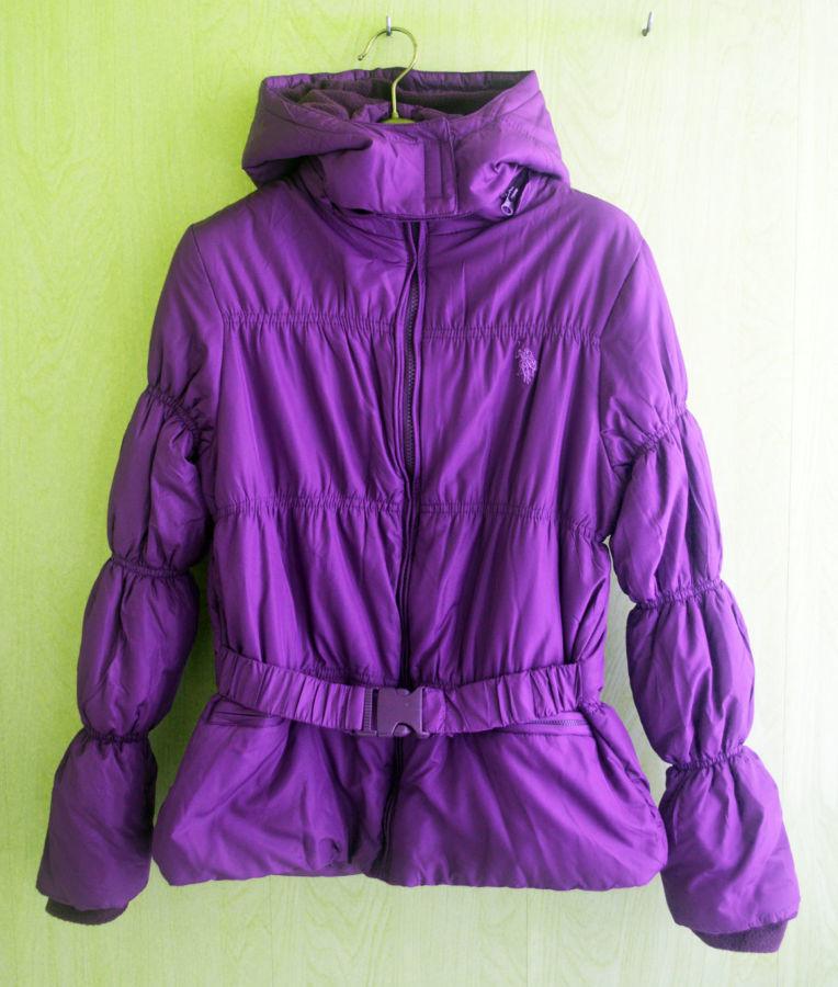 Фото 3 - Курточка деми еврозима флис подклакдка на 14-16 лет, US Polo Америка