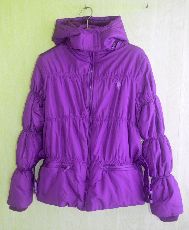 Фото 2 - Курточка деми еврозима флис подклакдка на 14-16 лет, US Polo Америка