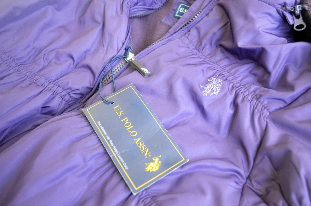 Фото 6 - Курточка деми еврозима флис подклакдка на 14-16 лет, US Polo Америка