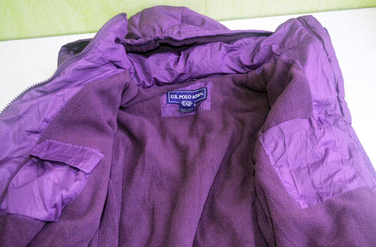 Фото 7 - Курточка деми еврозима флис подклакдка на 14-16 лет, US Polo Америка