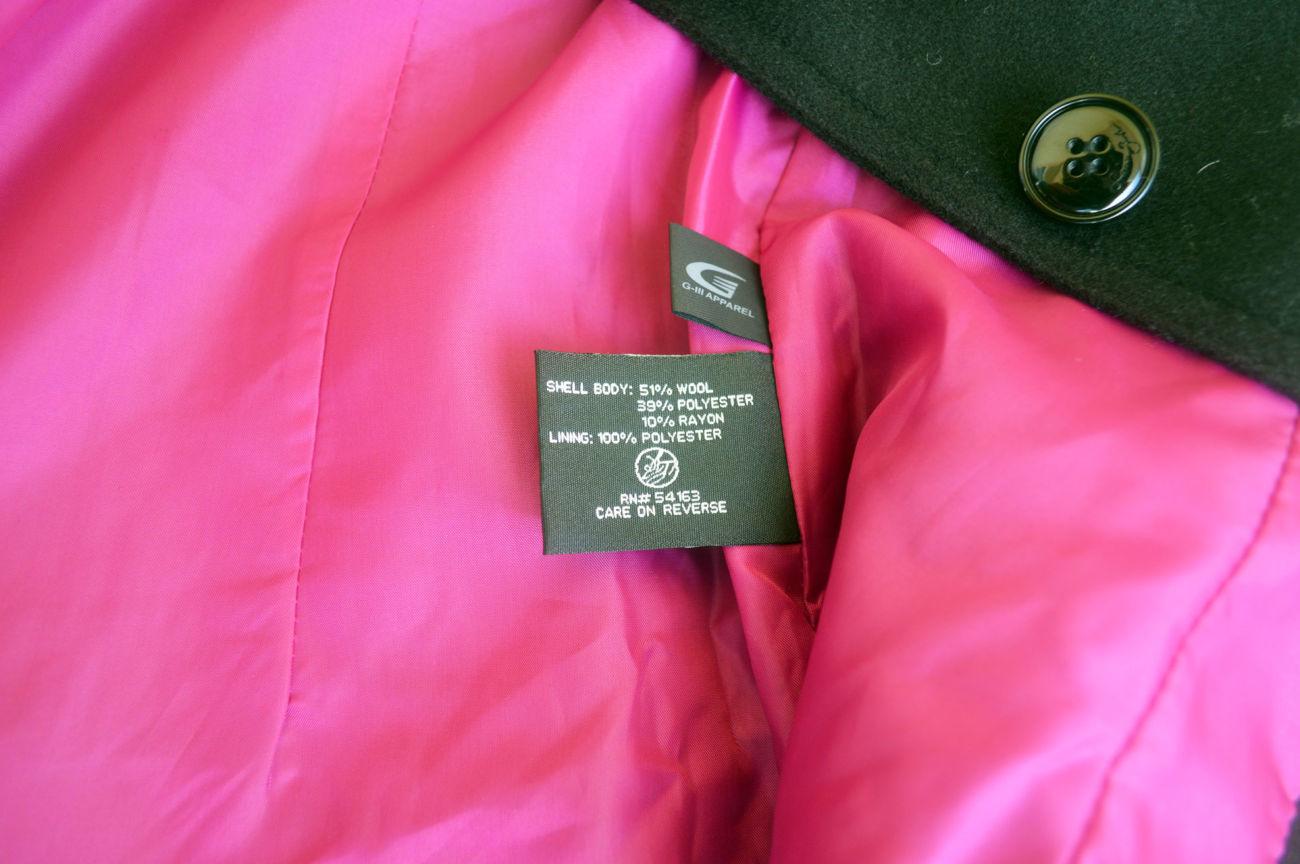 Фото 7 - Пальто демисезон шерсть укороченное на 12-14 лет, Sean John Америка