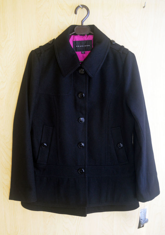 Фото 2 - Пальто демисезон шерсть укороченное на 12-14 лет, Sean John Америка