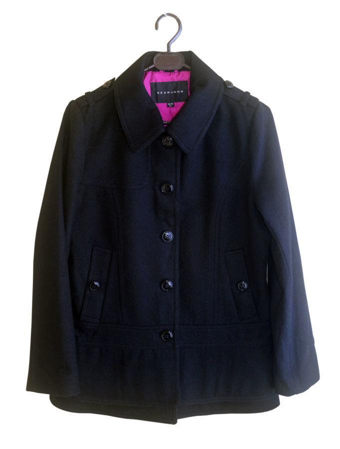 Фото 9 - Пальто демисезон шерсть укороченное на 12-14 лет, Sean John Америка