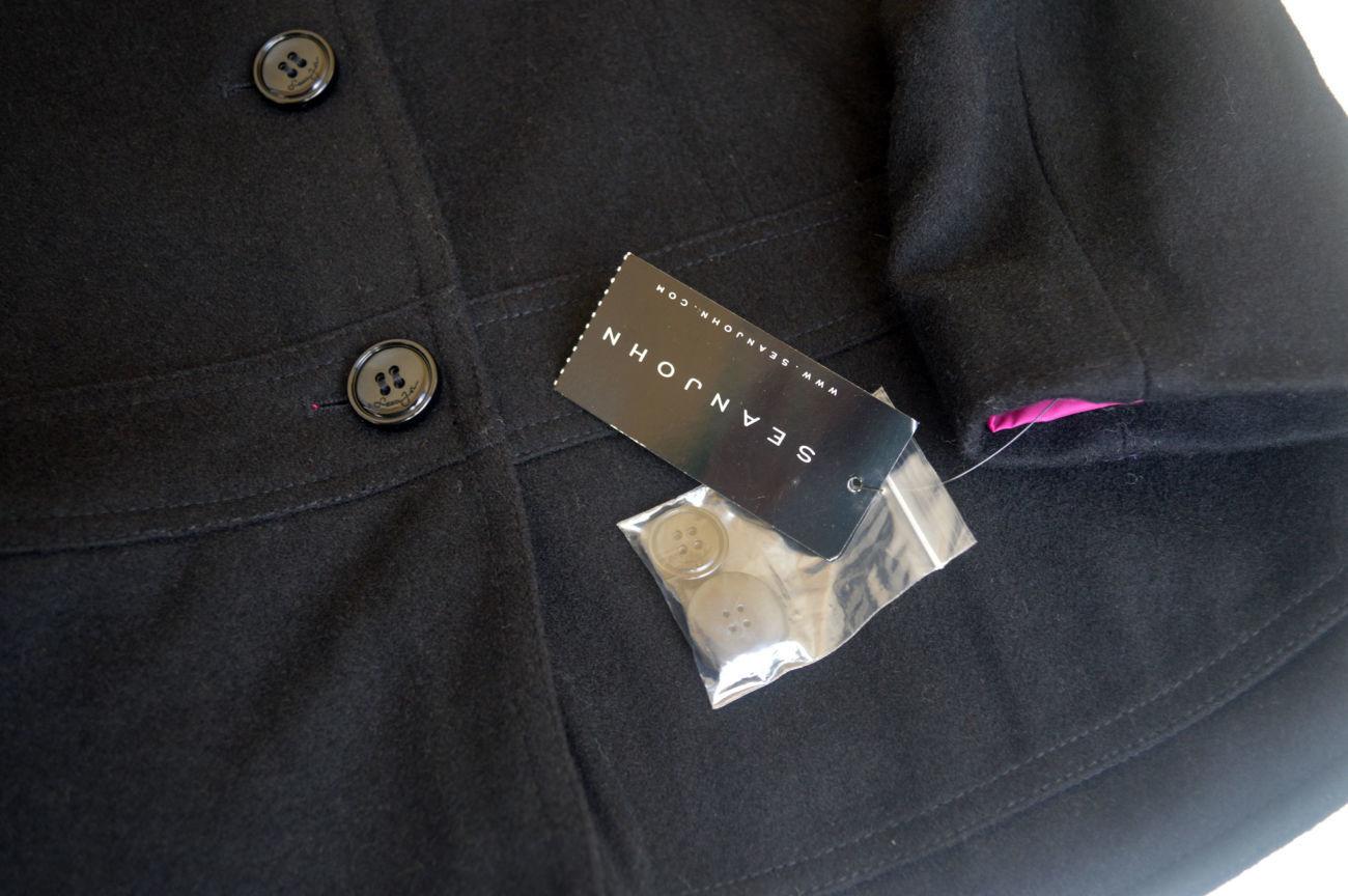 Фото 5 - Пальто демисезон шерсть укороченное на 12-14 лет, Sean John Америка