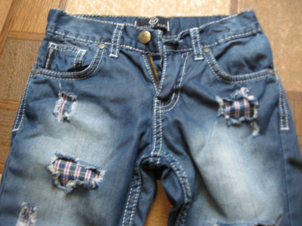 Фото 2 - модные, фирменные джинсы Philipp Plein