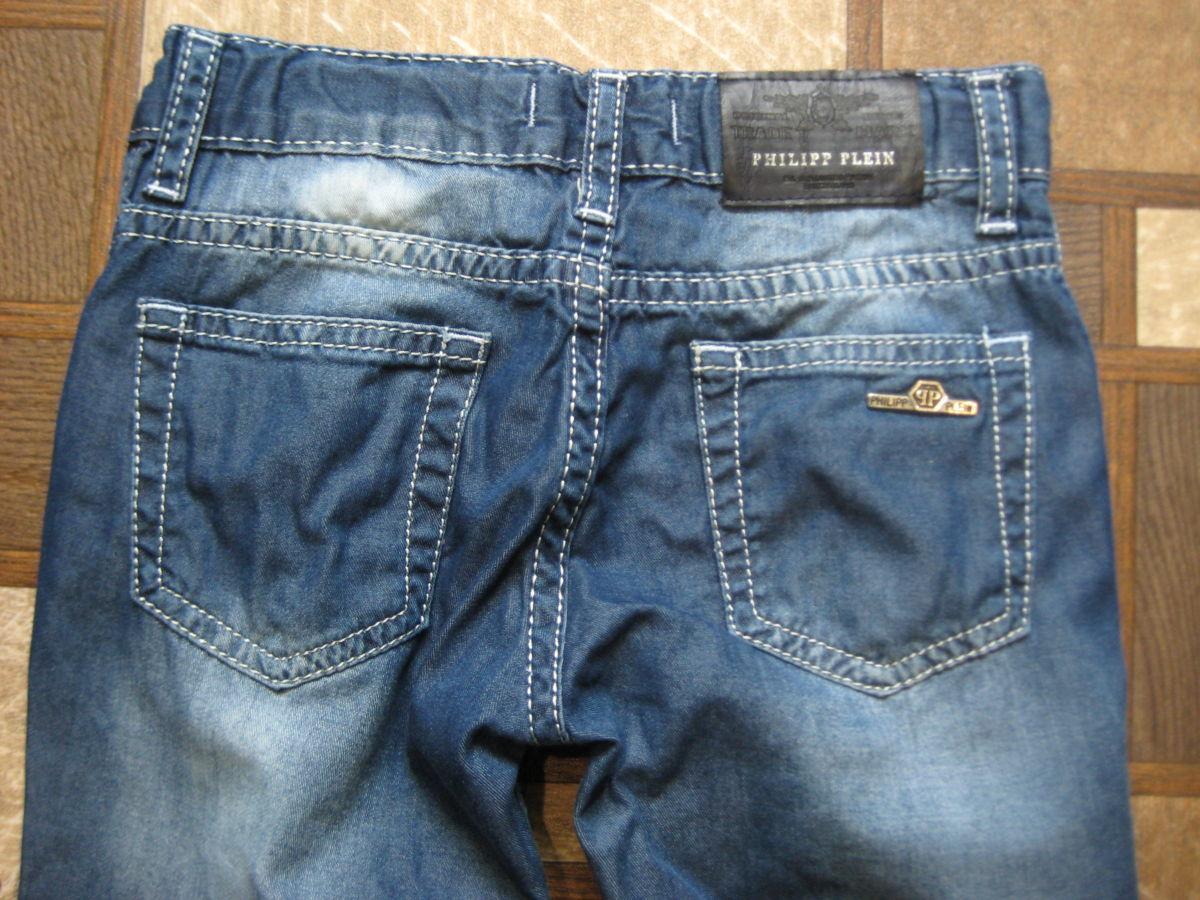 Фото 8 - модные, фирменные джинсы Philipp Plein