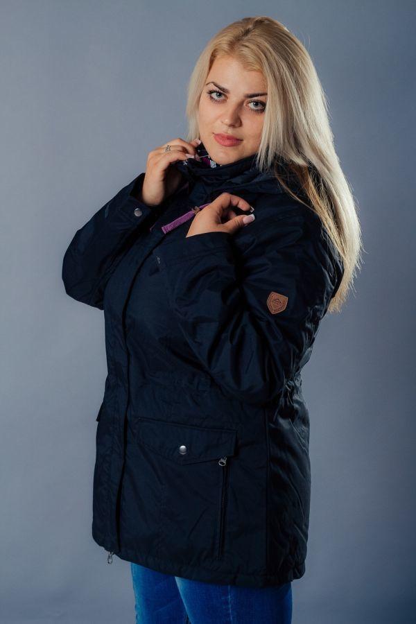 Фото 4 - Штормовая куртка мембрана McKinley Распродажа XXL женская на осень