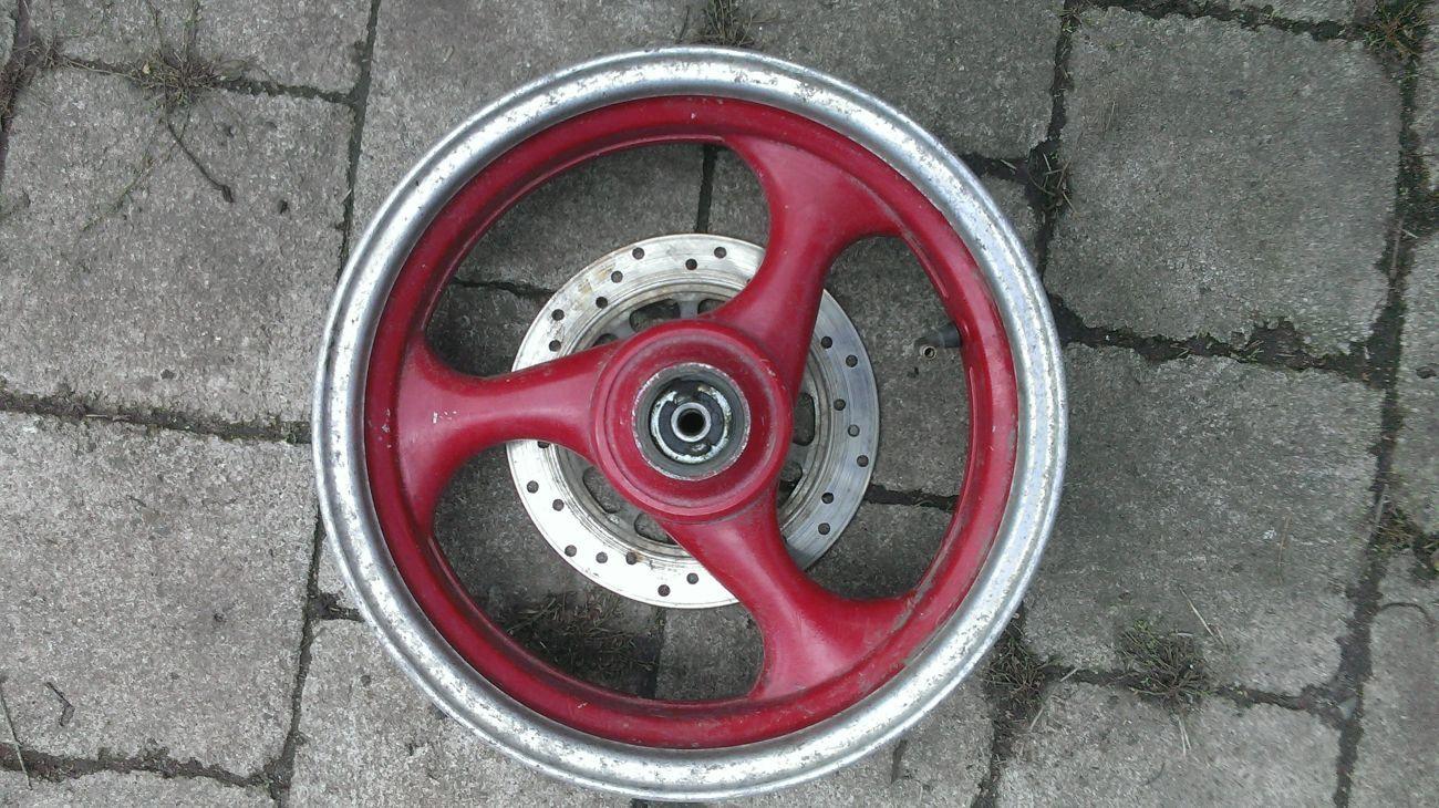 Фото 2 - Диск колеса скутера 13 дюймов передний.