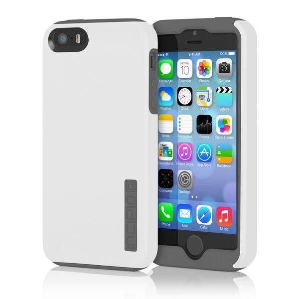 Фото - Чехол Incipio DualPro двойная защита серобелый iPhone 5 5s SE