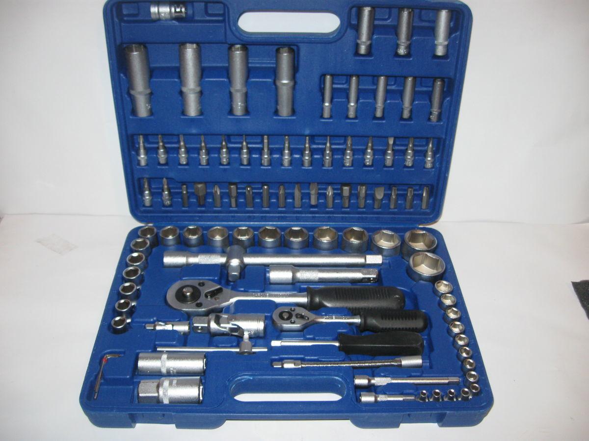 Фото - Професcиональный набор инструмента 94 в 1 Euro Craft