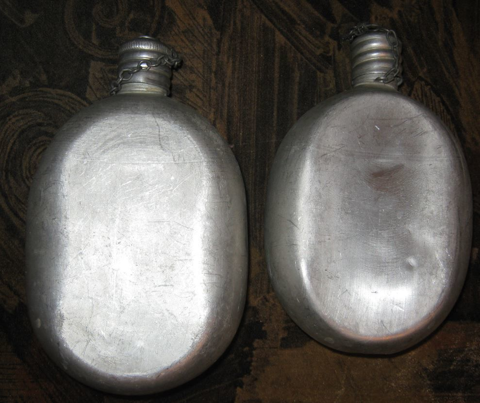 Фото 2 - фляга алюминиевая