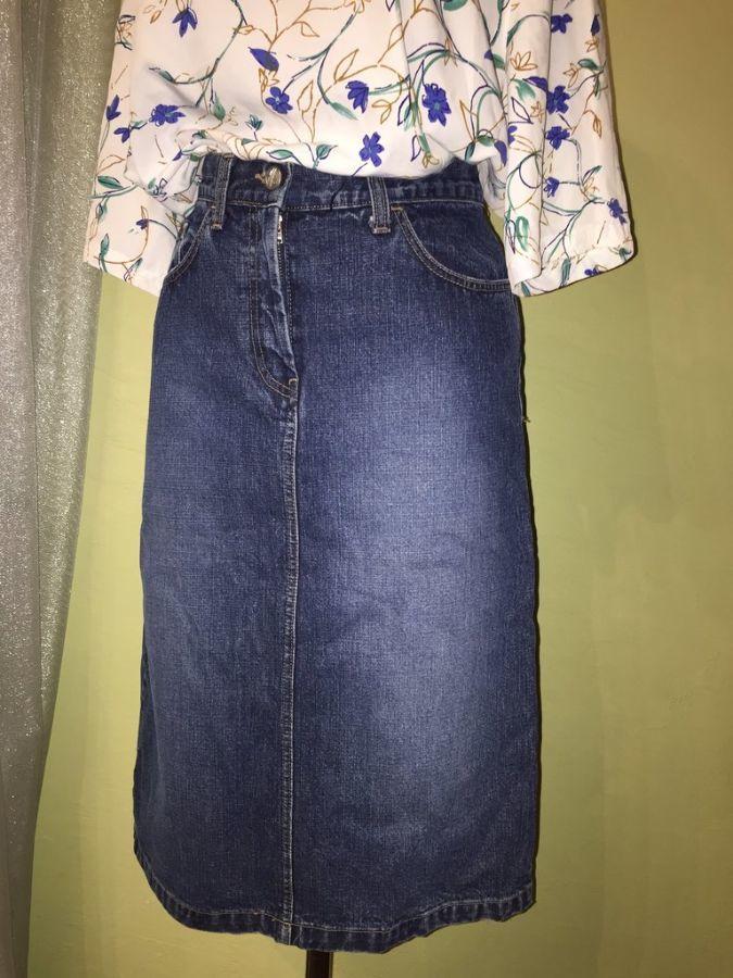 Фото - Джинсовая юбка размер 28