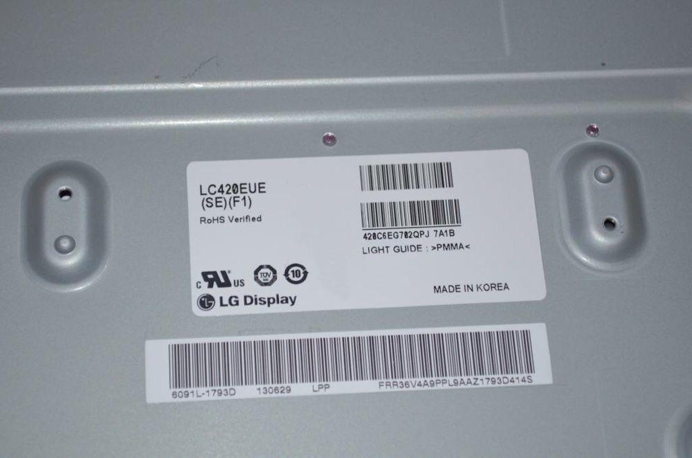 Фото 3 - Матрица для 620t 644t LC420EUE (SE)(F1) , с led подсветкой.