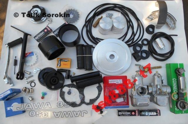 Фото 5 - Запчасти ЯВА/JAWA 350,12V,6V,638,634,640,ЛЮКС от разных производителей