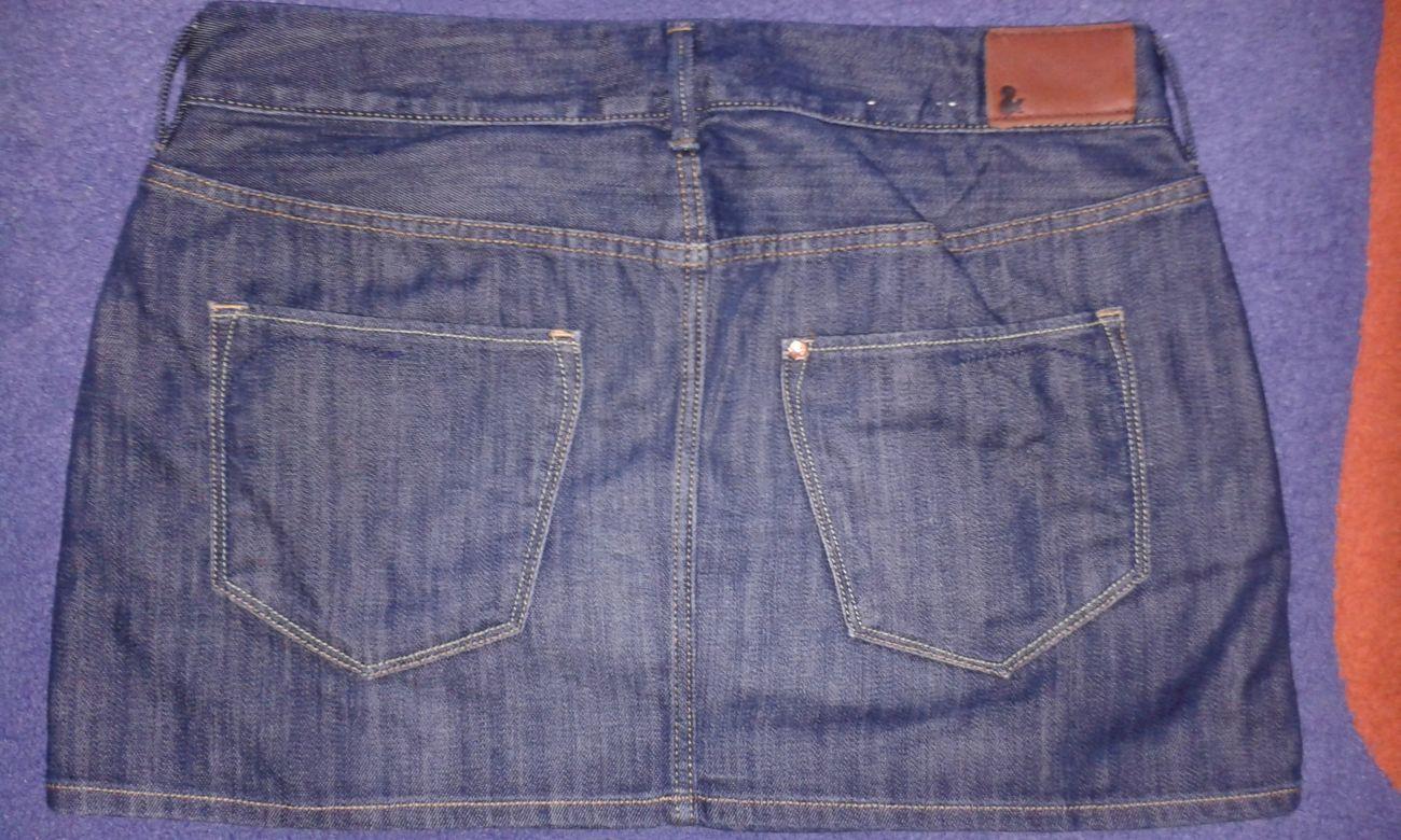 Фото 2 - Продается юбка джинсовая