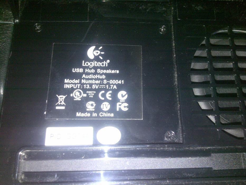 Фото 3 - Logitech USB HUB Laptop Speaker System S-00041 Premium 2.1