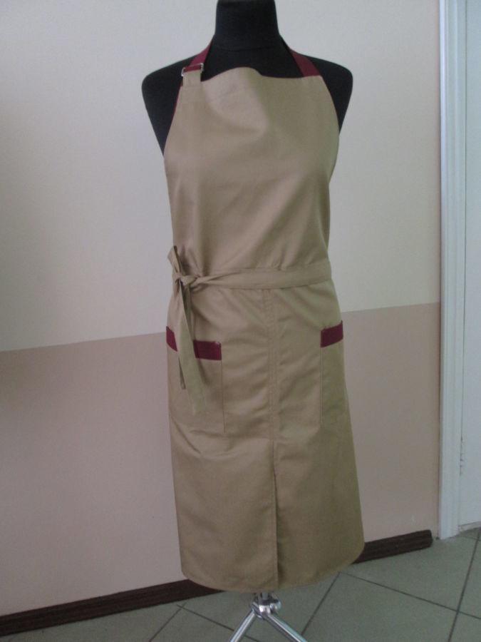 Фото - Фартуки для официантов, поваров, с нагрудником, шьем под заказ