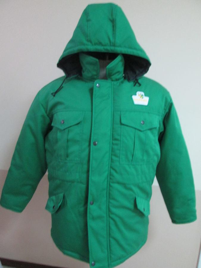 Фото - Куртки зимние, утепленные, пошив под заказ, с вышивкой лого