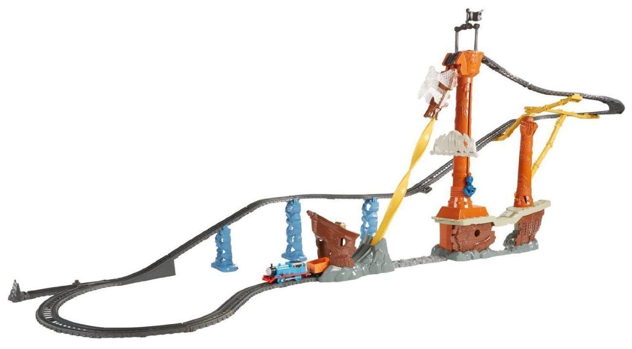 Фото 2 - Fisher-Price Thomas the Train TrackMaster Shipwreck Rails Set