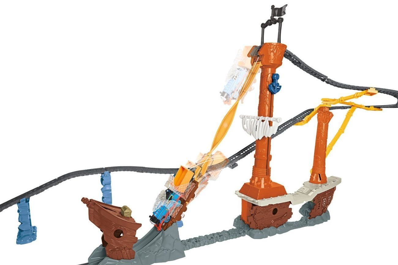 Фото 3 - Fisher-Price Thomas the Train TrackMaster Shipwreck Rails Set