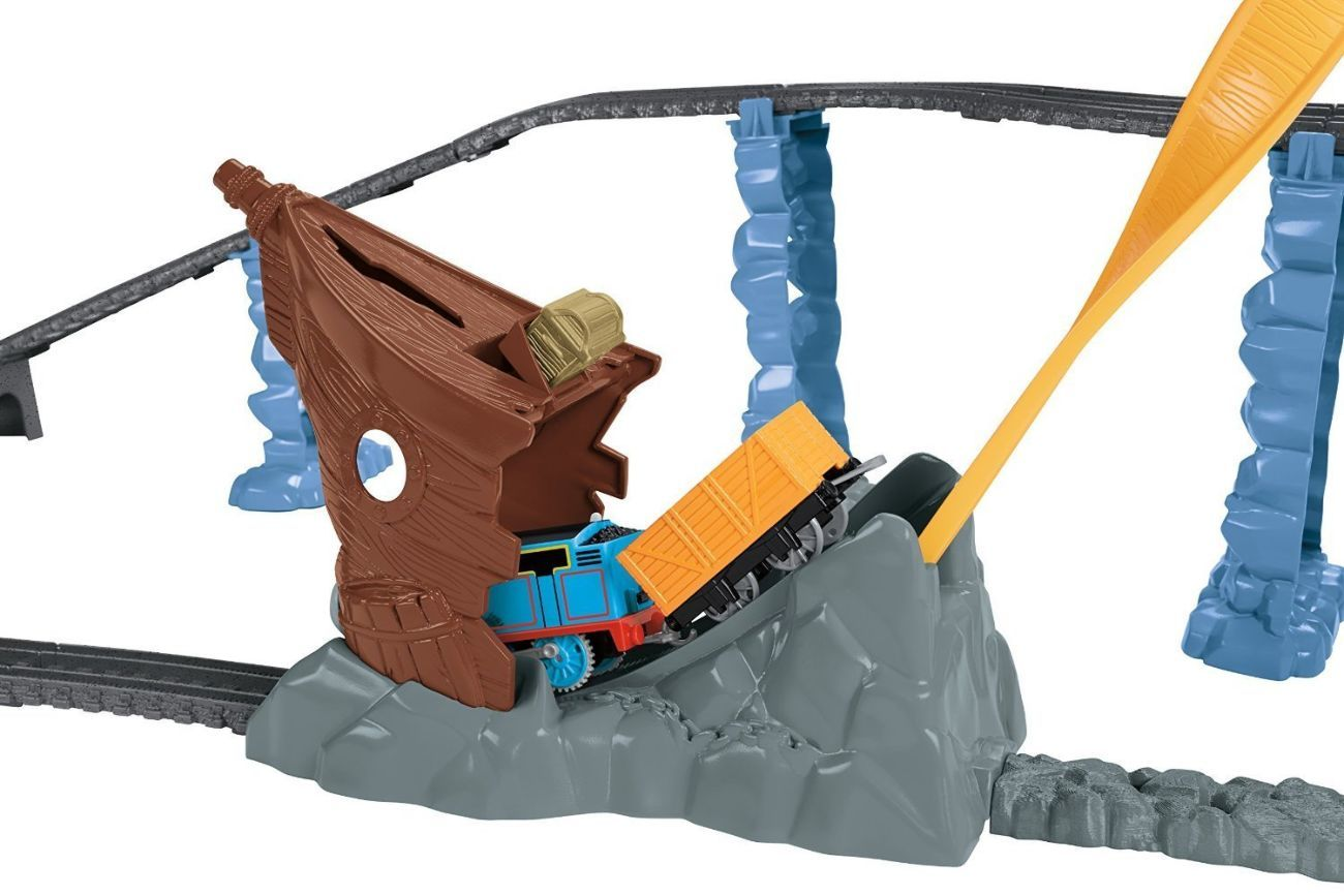 Фото 4 - Fisher-Price Thomas the Train TrackMaster Shipwreck Rails Set