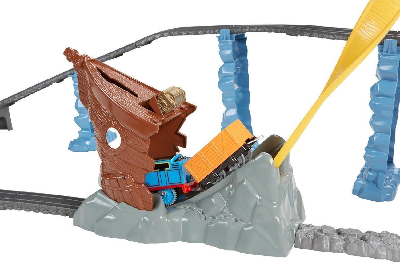 Фото 6 - Fisher-Price Thomas the Train TrackMaster Shipwreck Rails Set