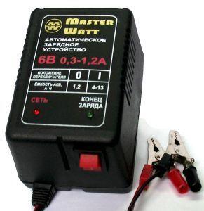 Фото - Зарядное для аккумулятора до эхолота, детского электро скутера