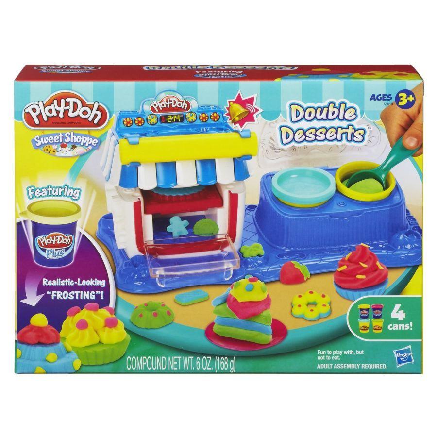 Фото 5 - Набор для творчества Play-Doh Sweet Shoppe Double Desserts